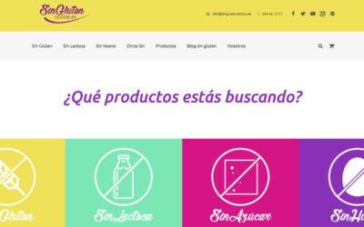 Ecommerce SinGlutenOnline.es – Caso de éxito